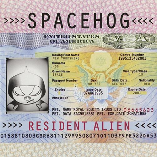 [수입] Spacehog - Resident Alien [Limited 2LP Cream with Pink Splatter British Passport Vinyl Edition][Gatefold]