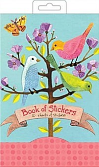 Avian Friends Book of Stickers (Hardcover)