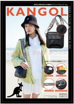 KANGOL camera BAG BOOK
