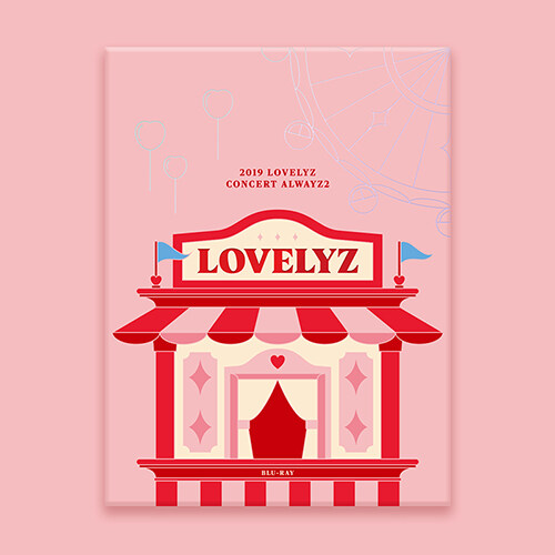 [블루레이] 러블리즈 - 2019 LOVELYZ CONCERT ALWAYZ 2 BLU-RAY [2BD]