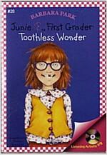 Junie B. Jones #20 : First Grader : Toothless Wonder (Paperback + CD)