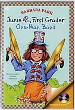 Junie B. Jones #22 : First Grader : One-Man Bnad (Paperback + CD)