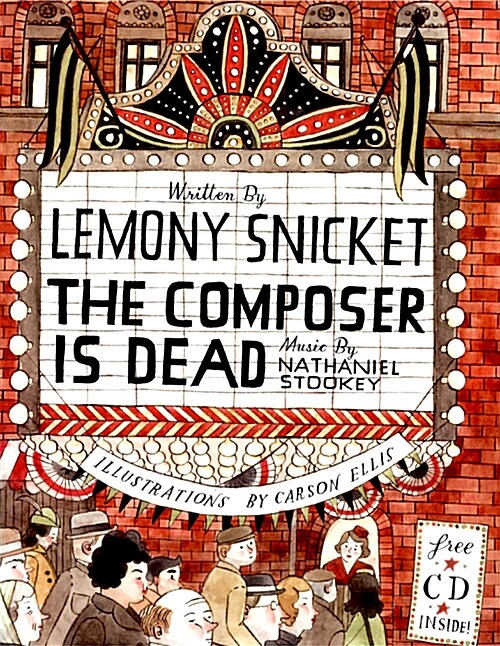 The Composer Is Dead [With CD (Audio)] (Hardcover)
