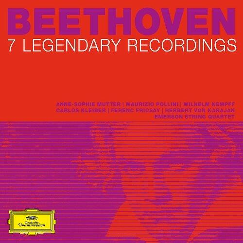 [수입] 베토벤 250주년 기념 - 7개의 전설적 음반 [디지팩 7CD]