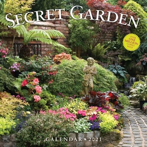 Secret Garden Wall Calendar 2021 (Wall)