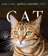 Cat Page-A-Day Gallery Calendar 2021 (Daily)