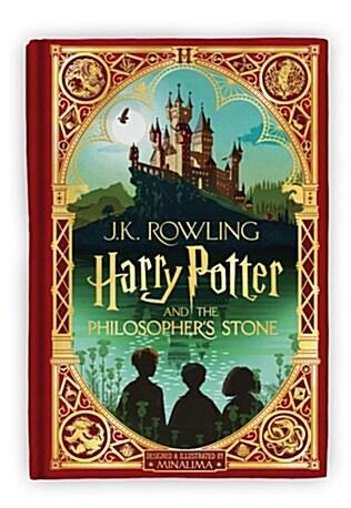 [중고] Harry Potter and the Philosophers Stone: MinaLima Edition (Hardcover)