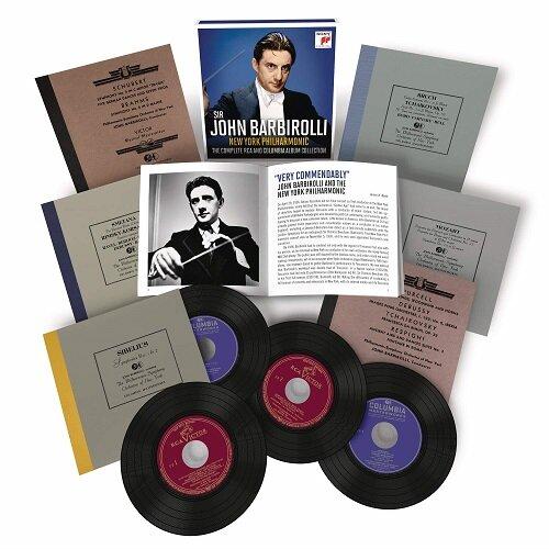 [수입] 존 바비롤리 - RCA & 콜럼비아 녹음 전집 [오리지널 커버 6CD]