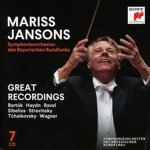 [수입] 마리스 얀손스 - 그레이트 레코딩 [7CD]