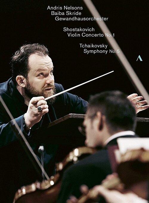 [수입] 쇼스타코비치 : 바이올린 협주곡 1번 / 차이콥스키 : 교향곡 5번