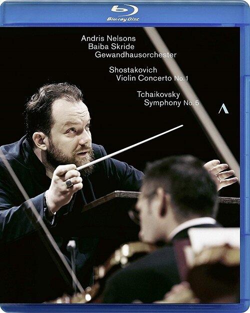 [수입] [블루레이] 쇼스타코비치 : 바이올린 협주곡 1번 / 차이콥스키 : 교향곡 5번