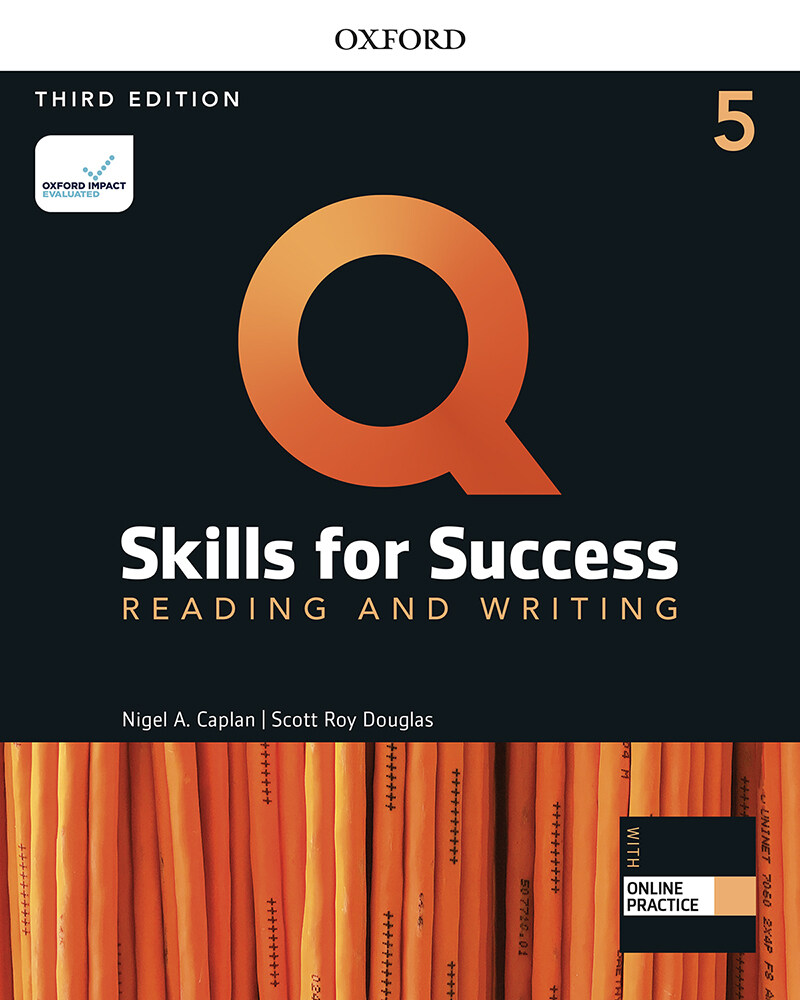 Q Skills for Success Reading and Writing 5 : Student Book with Online Practice (3rd Edition)