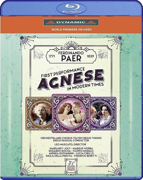 [수입] [블루레이] 파에르 : 오페라 아그네스 [한글자막]