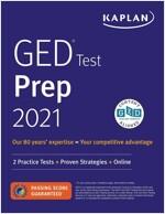 GED Test Prep 2021: 2 Practice Tests + Proven Strategies + Online (Paperback, Revised, Revise)