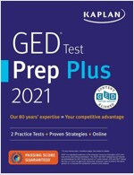 GED Test Prep Plus 2021: 2 Practice Tests + Proven Strategies + Online (Paperback, Revised, Revise)