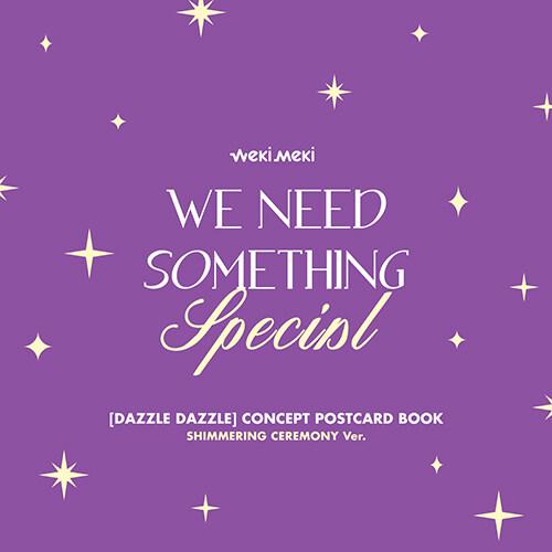 [화보집] 위키미키 - 디지털 싱글앨범 DAZZLE DAZZLE : CONCEPT POSTCARD BOOK [SHIMMERING CEREMONY Ver.]