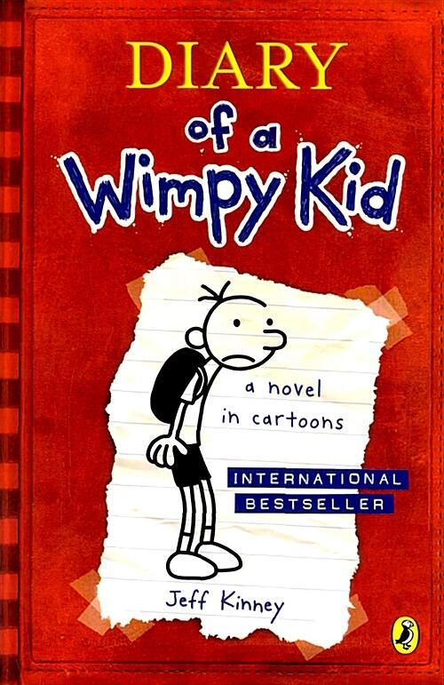 [중고] Diary Of A Wimpy Kid (Book 1) (Paperback)