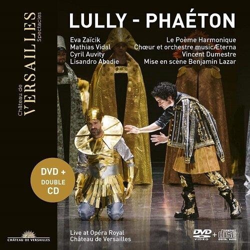 [수입] 륄리 : 오페라 파에통 전곡 (DVD+2CD)