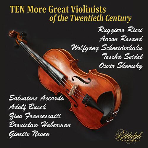 [수입] 20세기 위대한 바이올리니스트 연주집 2집 [10CD]