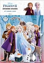 겨울왕국 2 아트웍 스티커 : 엘사와 안나 (12종)
