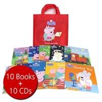 페파피그 Peppa Pig : Red Bag (Book 10권 + CD 10장)