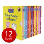 페파피그 패밀리 앤 프랜즈 세트 Peppas Family and Friends (Boardbook 12권)