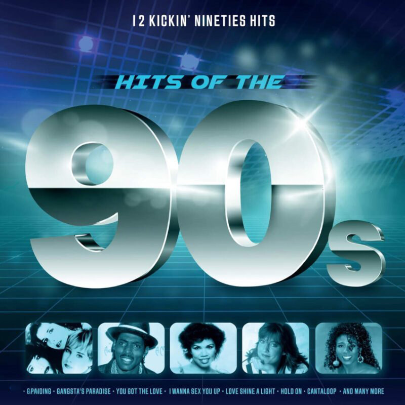 [수입] 1990년대 팝 음악 모음집 (Hits of the 90s) [LP]