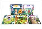 Push-pull-slide First Stories 5 Books Set (Boardbook 5권)