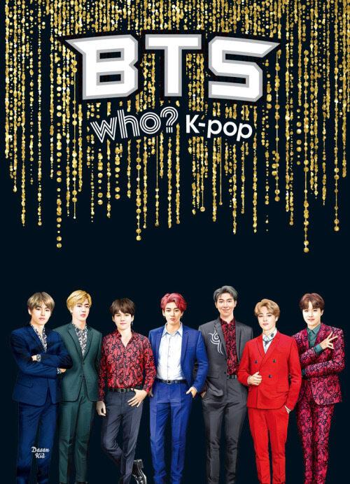 Who? K-POP BTS (audiobook) (English+Korean) 영문+한글