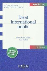 Droit international public 10e ed