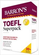 TOEFL Superpack: 3 Books + Practice Tests + Audio Online (Paperback, 5)