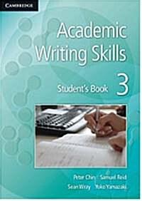 Academic Writing Skills 3 Students Book (Paperback)