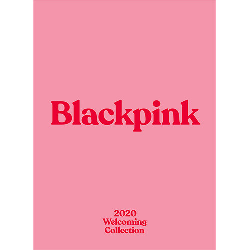 [포토북] 블랙핑크 - BLACKPINKs 2020 WELCOMING COLLECTION [DVD]