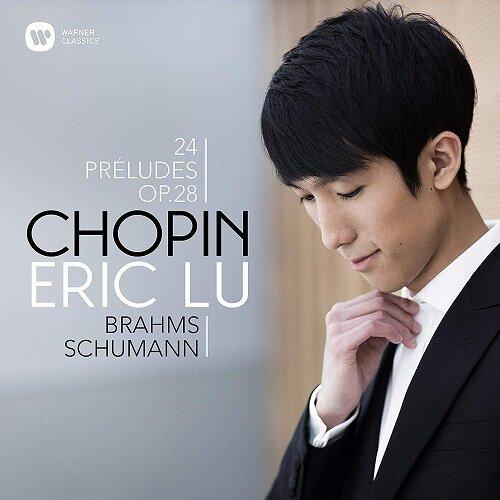 [수입] 쇼팽: 24개의 전주곡 / 슈만: 유령 변주곡 / 브람스: 간주곡 Op.117 No.1