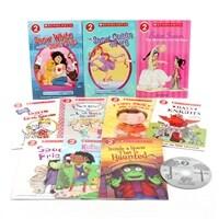 스콜라스틱 리더스 Scholastic Readers Level 2 Set (Paperback 10권 + Audio CD 1장)