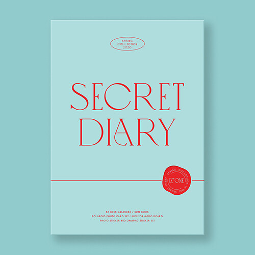 [캘린더] 아이즈원 - SECRET DIARY (CALENDAR PACKAGE)