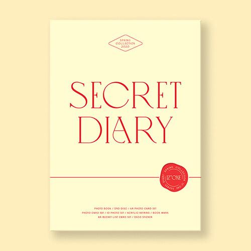 [포토북] 아이즈원 - SECRET DIARY (PHOTOBOOK PACKAGE)