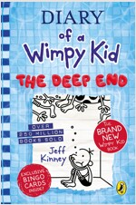 Diary of a Wimpy Kid Book #15 : The Deep End (Hardcover, 영국판)