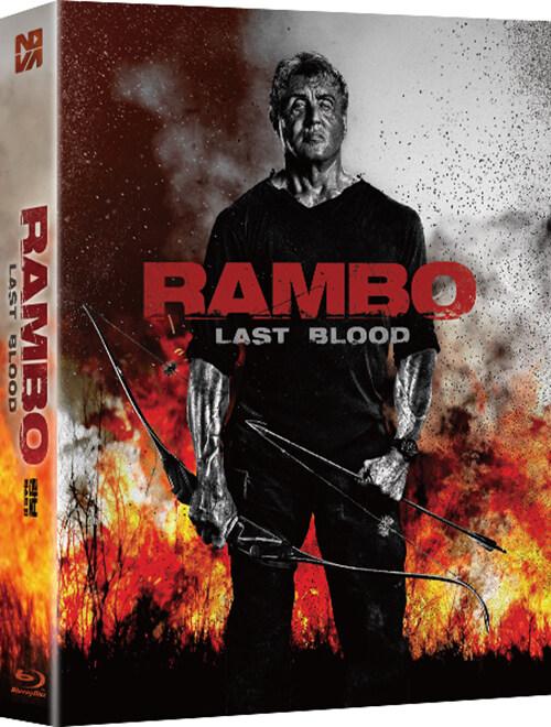 [블루레이] 람보 : 라스트 워 - 확장판 렌티큘러 풀슬립 700장 넘버링 한정판
