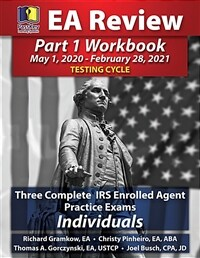 PassKey Learning Systems EA Review Part 1 Workbook: Three Complete IRS Enrolled Agent Practice Exams for Individuals (May 1, 2020-February 28, 2021 Te (Paperback)