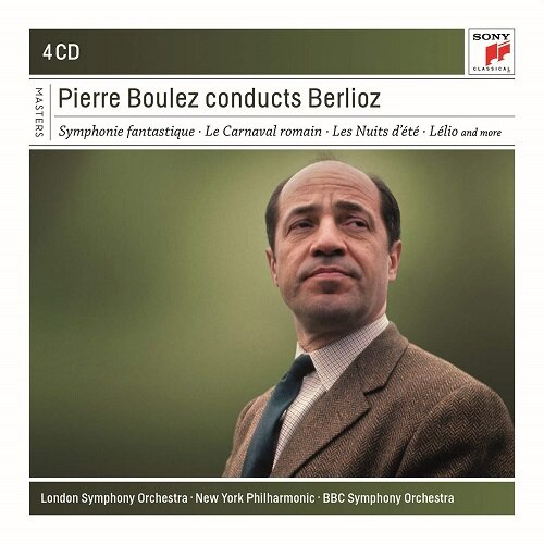 [수입] 피에르 불레즈가 지휘하는 베를리오즈 (4CD)