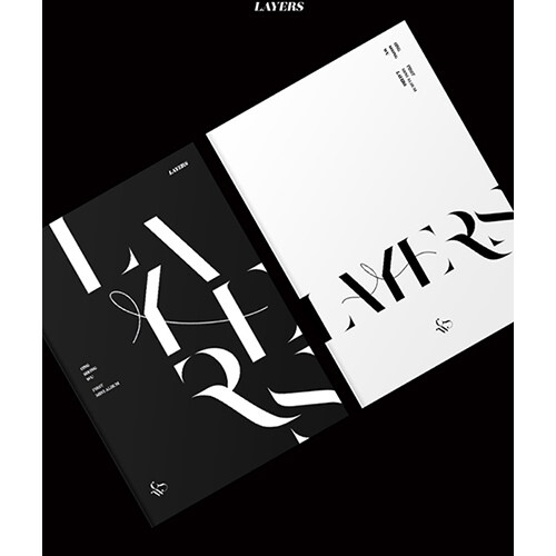 [세트] 옹성우 - 미니 1집 LAYERS [BLACK + WHITE Ver.]