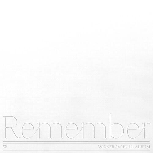 위너 - WINNER 3rd FULL ALBUM [Remember][YOU Ver.]