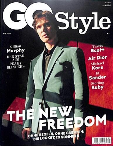 G.Q. Style (반년간 독일판): 2020년 S/S No.37