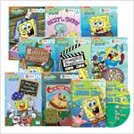 SpongeBob SquarePants 스폰지밥 얼리 챕터북 8종 세트 (Paperback 8권 (단어 & 표현 리스트, 학습 문제 포함) + Audio CD 2장)