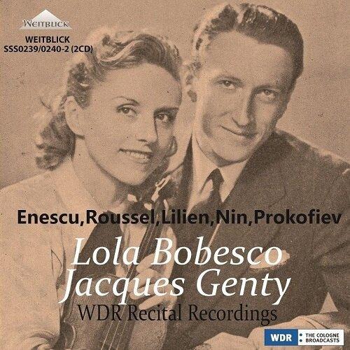 [수입] 롤라 보베스코 - 20세기 바이올린 명곡집 (2CD)