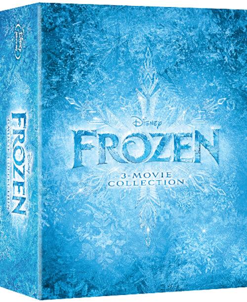 [블루레이] 겨울왕국 3-Movie Collection (3disc)