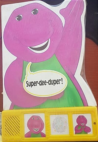 [중고] Barney Super-dee-duper (soundbook)