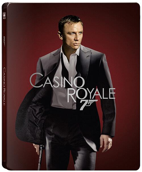 [4K 블루레이] 007 카지노 로얄 : 스틸북 한정판 (2disc: 4K UHD + 2D)