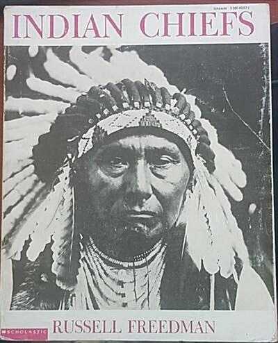 [중고] Indian Chiefs (paperback)